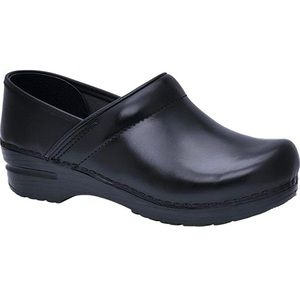 DANSKO NEW Professional Leather Padded Comfort Clogs Shoes Mules Arch Support 38
